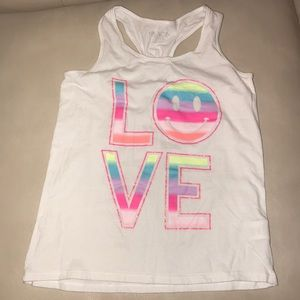 Children's Place LOVE tank size m (7/8)
